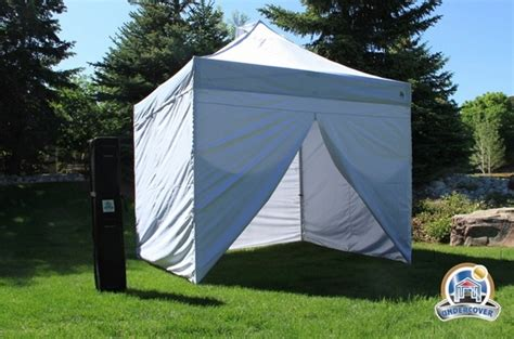 undercover    commercial popup canopy  carry bag  sidewalls