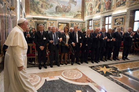 lavoro in 2015 i cavalieri lavoro incontrano papa francesco il 20