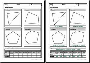 Viereck Winkel Berechnen : mathematik geometrie arbeitsblatt winkel winkelsummen 8500 bungen arbeitsbl tter r tsel ~ Themetempest.com Abrechnung