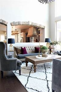 Glam Cozy Fall Living Room - The House of Silver Lining