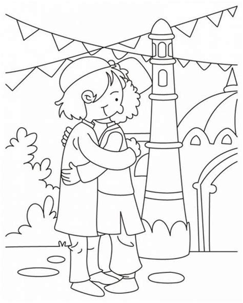 happy eid mubarak  vipin gupta coloring pages