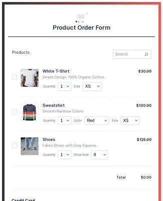 paypal pro payment form template jotform