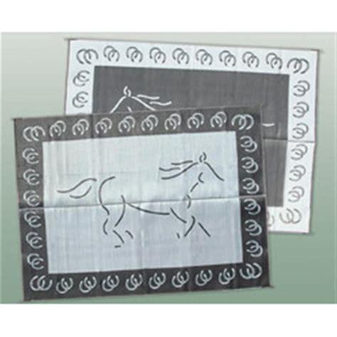 patio mats 174 9x12 reversible mat horse design 158202