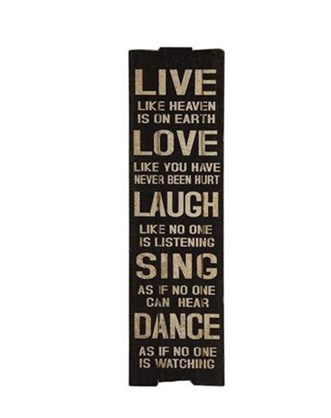 5 out of 5 stars (1,667) sale price $3.56 $ 3.56 $ 4.45 original price $4.45 (20% off) free shipping favorite add. Live Love Laugh Sing Dance Wall Art | Home Comfort