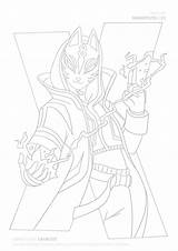 Catalyst Fortnite Coloring Season Draw Drawing Sketch sketch template