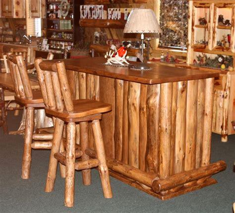 aspen kitchen island amish rustic wood bar