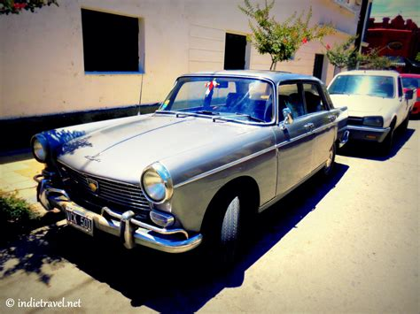 colourful vintage cars photography  argentina