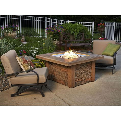 gas pit table gas pit table mocha w square burner