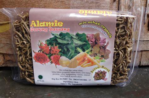 mie organik alamie rasa bawang alamie mie sehat organik toko almishbah 085725881971