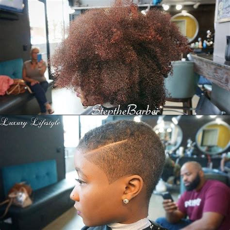 Bid Shop 509 Best Females Rocking Baldie S And Twa Haircut Images
