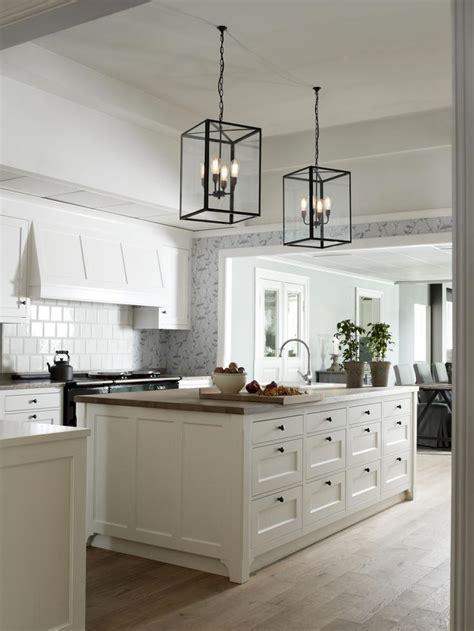 adding interest   white kitchen hoods greige design