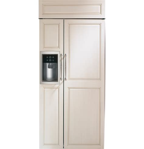monogram  built  side  side refrigerator  dispenser zisbdh ge appliances