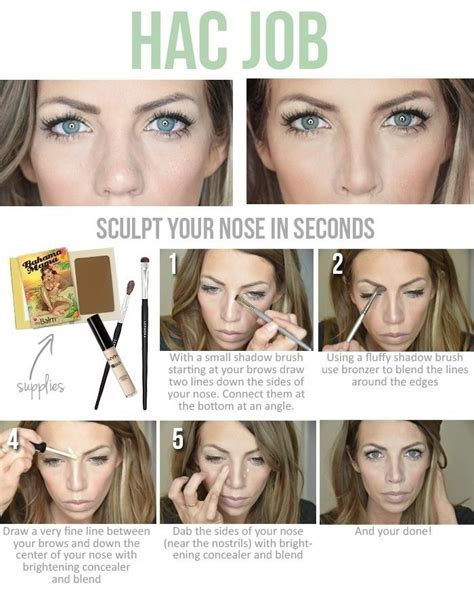 picture   great job  showing   give   nose job