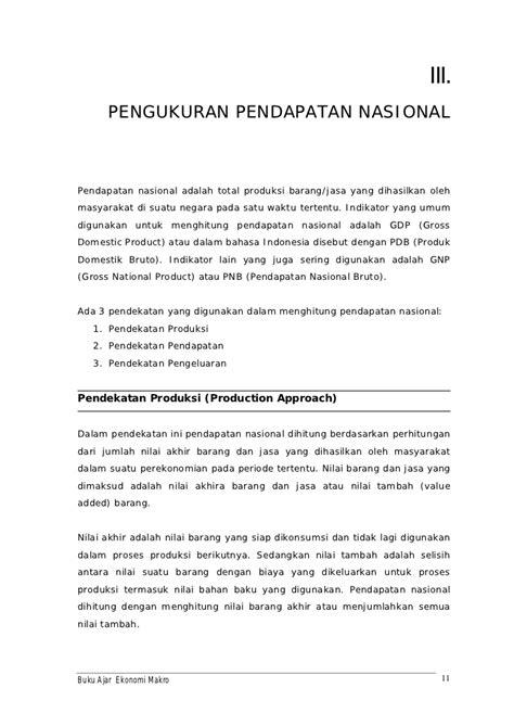 Contoh Permasalahan Ekonomi Makro Dan Mikro Di Indonesia