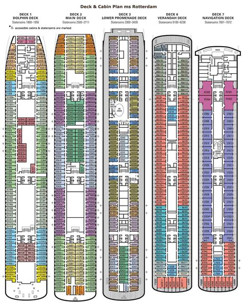 America Ms Westerdam Deck Plans by 18 America Eurodam Ship Deck Plans Cruises