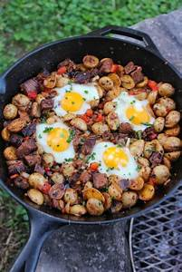 Leftover Brisket Breakfast Skillet