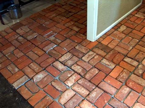 brick floor tile 10 most common types of flooring used in india civilblog org