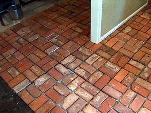 10 most common types of flooring used in india civilblogorg for Cost of brick flooring