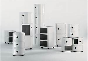 Componibili Kartell Storage Unit  U00d8 32 Cm