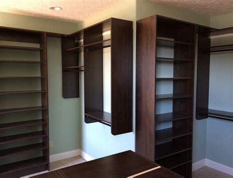 custom closets shelving systems plus