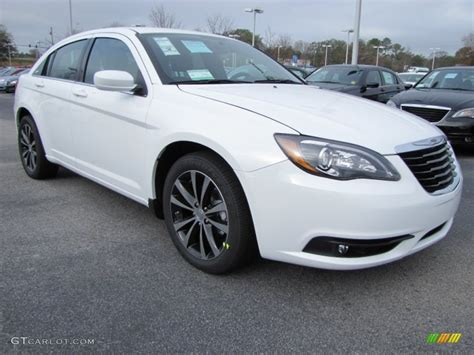 2012 Chrysler 200 S by Bright White 2012 Chrysler 200 S Sedan Exterior Photo