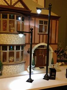 Jocelyn U0026 39 S Mountfield Dollhouse  Street Lamp Post Made
