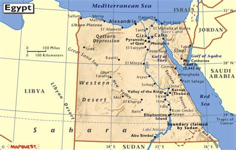 hrw world atlas egypt