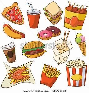 Junk Food Vs Healthy Food Clipart - ClipartXtras