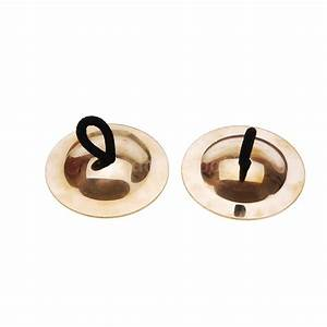4Pcs Finger Cymbals Brass Belly Dance Dancer Costume Party ...