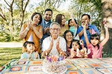 Celebrating Birthday With Family Stock Photo - Download ...