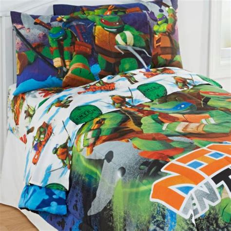 turtle comforter set mutant turtles bedroom decor