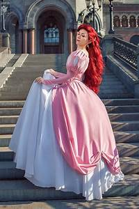 Ariel pink dress cosplay love this dress----this makes me ...