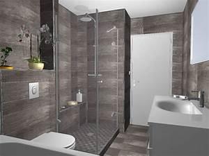 Exemple De Petite Salle De Bain : modele de salle de bain moderne 5 wendel nos solutions ~ Dailycaller-alerts.com Idées de Décoration