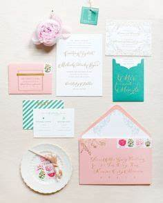 courtney and michael39s garden party wedding in st louis With martha stewart wedding invitations michaels