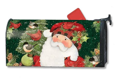 christmas mailbox covers add instant holiday cheer flags