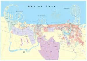 Dubai On World Map
