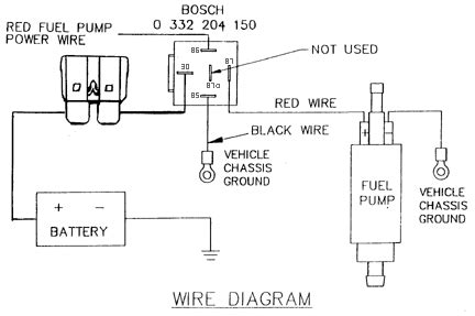 Need Some Help With Wiring Electric Fuel Pump