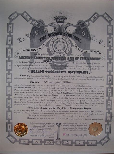 Masons Illuminati Masonic Master Shriner 32 Degree Scottish Rite