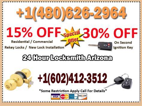 locksmith phoenix az car key locksmith az residential