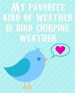 Spring Printabl... Chirp Quotes