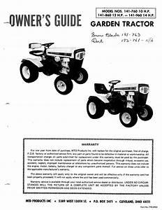 Mtd Lawn Mower 141