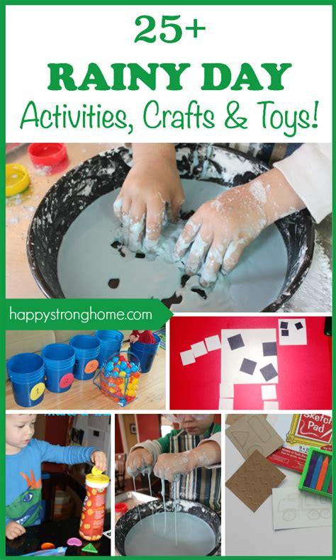 rainy day activities crafts  toys happy