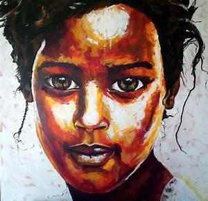 Peinture Visage Femme : visage d 39 art et d 39 esprit page 2 ~ Melissatoandfro.com Idées de Décoration