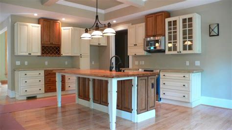 wooden kitchen island legs captivating building a kitchen island from base cabinets 1640