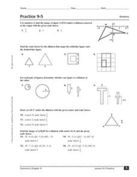Math Dilations Worksheet  Dilations Worksheet K 2 Kudotest Intuitive Notion Of Dilation