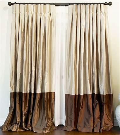 Drapes Silk Curtains Bordered Drapery Custom Drapestyle