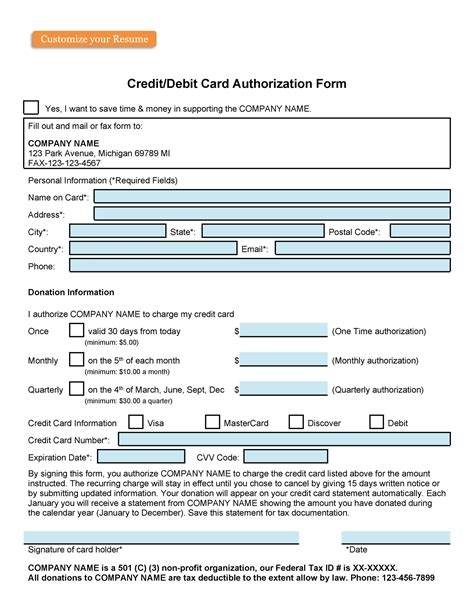 The law regulates credit reporting and ensures that only business entities with a specific, legitimate purpose, and not members of the general public, can check your credit without written permission. 43 Credit Card Authorization Forms Templates {Ready-to-Use}