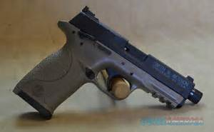 10242 Smith  U0026 Wesson M U0026p22 Compact Threaded Fde    For Sale