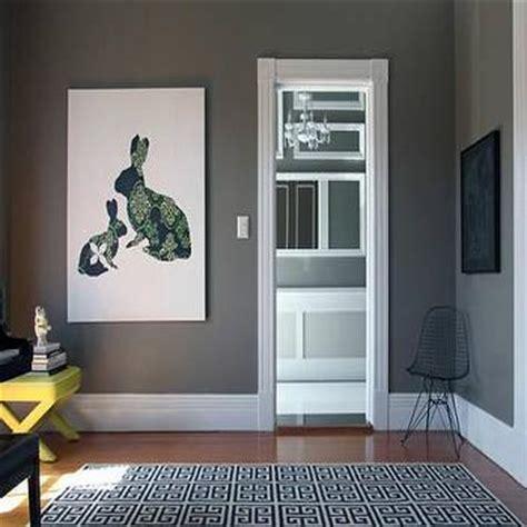 gray walls contemporary living room behr squirrel