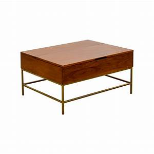 Industrial coffee table west elm coffee table inspirations for West elm industrial storage coffee table
